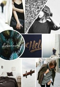 Creating a styled moodboard is something I like to do in my spare time.