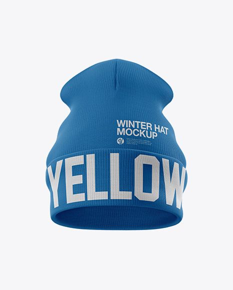 Download Turn Up Beanie Hat Mockup Frontview Download Turn Up Beanie Mockup Design Mockup Free Mockup Psd