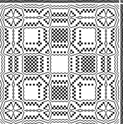 Weaving Designs, Weaving Patterns, Loom Weaving, Hand Weaving, Weaving Machine, Textiles, Block Design, Pattern Drafting, Pansies