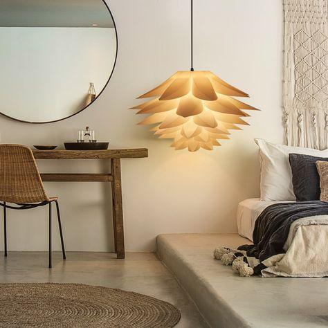 Excelvan Ceiling Pendant Lights Diy Iq Jigsaw Puzzle Lotus Flower