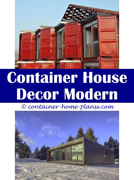 Shipping Container House With Basement Container House Plans