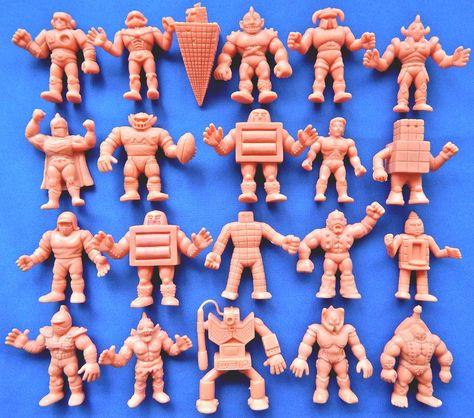 Kinnikuman dekakeshi MUSCLE Men  Vintage 1980/'s Mattel M.U.S.C.L.E