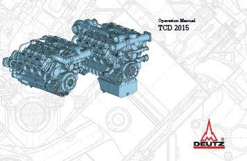 Deutz Engine Tcd 2015 Operation Manual 0312 3412 En Manual Operator Engineering