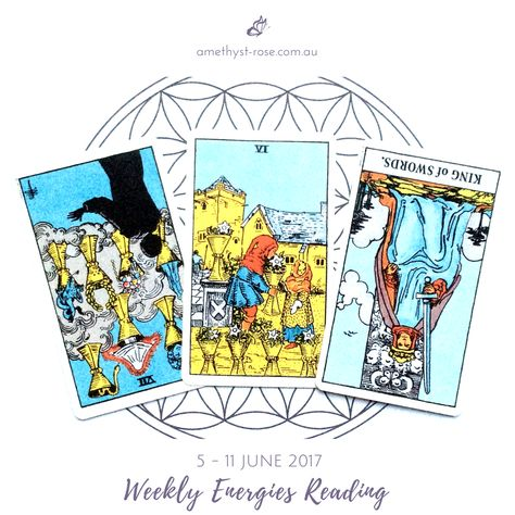 #WeeklyEnergies #WeeklyTarotReading for 5 - 11 June 2017   The intense energies of the last few weeks begin to recede, we are given some down time where we are asked to evaluate how far we've come in the first five months of the year so that we can prepare for the final half of the year...  Click on the image to see the whole reading.  <3 Vanda x   #WeeklyReading #EnergyOfTheWeek #GeneralReading #Tarot #TarotReadings #InsightsFromTheTarot #WisdomOfTheTarot #ReadingsWithVanda #IntuitiveReadings #