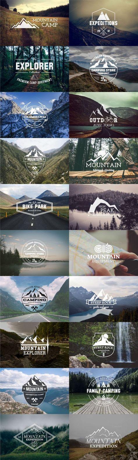 Pin By Tanner Dauner On Graphic Design Badge Logo Travel Logo