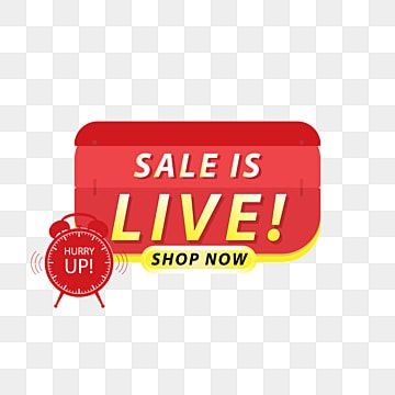 Sale Is Live Banner Design Home Furniture Promo Png And Vector With Transparent Background For Free Download Banner Design Sale Banner Design