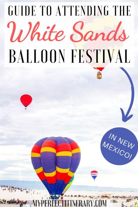 White Sands Hot Air Balloon Festival