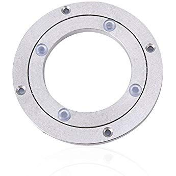 "5//16 Thick /& 1000 LB Capacity One 12/"" Inch Lazy Susan Round Turntable Bearing"