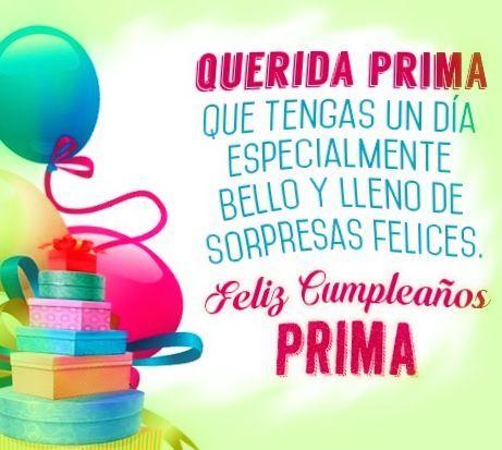 54 Ideas De Prima Tarjetas De Feliz Cumpleaños Frases De Feliz Cumpleaños Imagen Feliz Cumpleaños