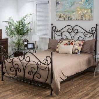Fleur De Lis Living Appalachian Standard Bed Reviews Wayfair Metal Beds Bed Frame Furniture
