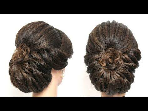 New Wedding Hairstyle For Long Hair Tutorial Perfect Bridal Updo Youtube Bridal Hair Buns Long Hair Styles Long Hair Tutorial