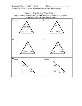 Triangles Practice Congruent Similar Or Neither And More Practice Sheet Algebra Equations Similar Triangles