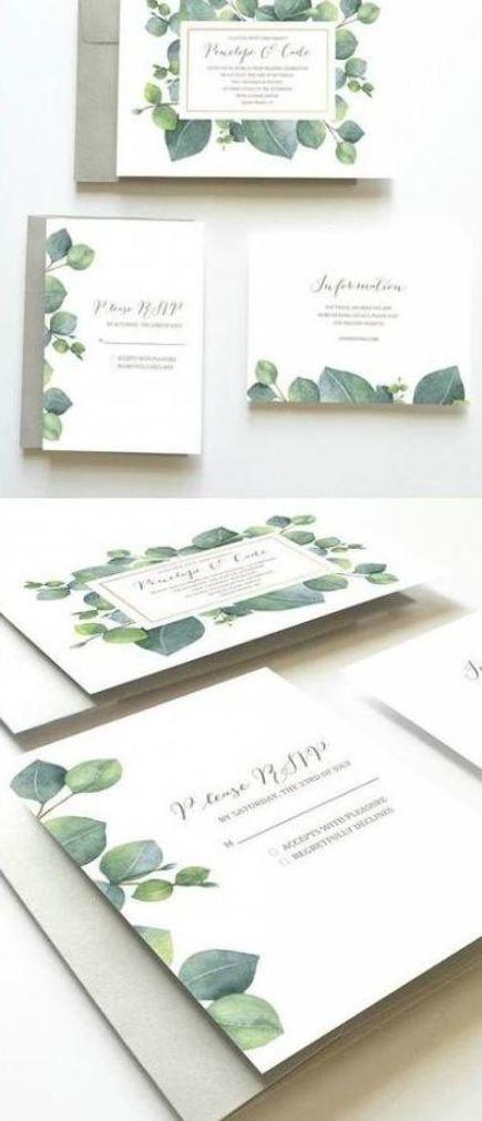 45 Ideas For Wedding Invitations Rustic Bohemian Boho Botanical Wedding Invitations Green Wedding Invitations Wedding Invitation Sets