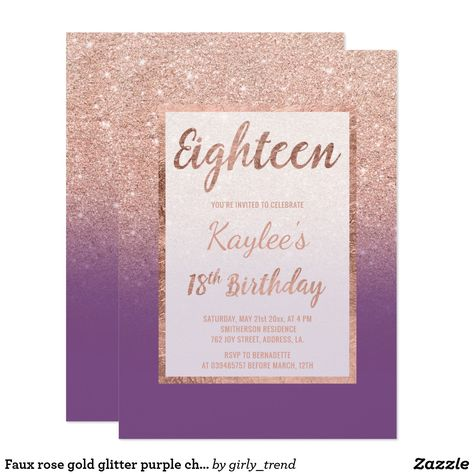 Rose gold feathers black marble 18th Birthday Card Gold feathers - fresh invitation letter for birthday debut