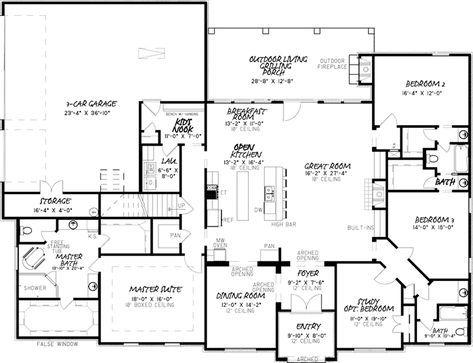 Traditional House Plan First Floor 155d 0034 From Houseplansandmore Com Home Design Floor Plans House Plans House Blueprints
