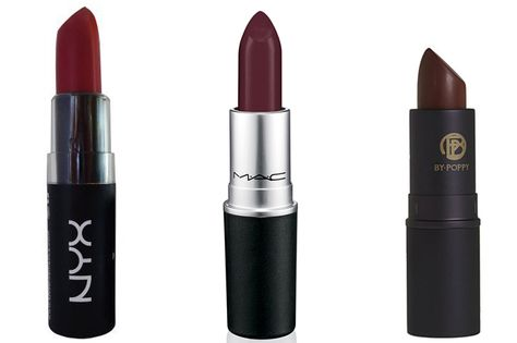 How to Wear Dark Lipstick - How to Wear Dark Makeup - Elle #howto