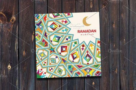 Ramadan Mubarak greeting card by on