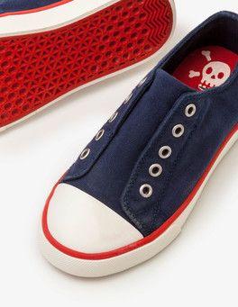 Laceless Canvas Shoes Boden | Canvas