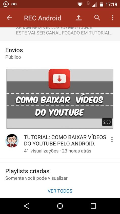 Veja Como Baixar Videos Do Facebook Youtube Twitter E Varias