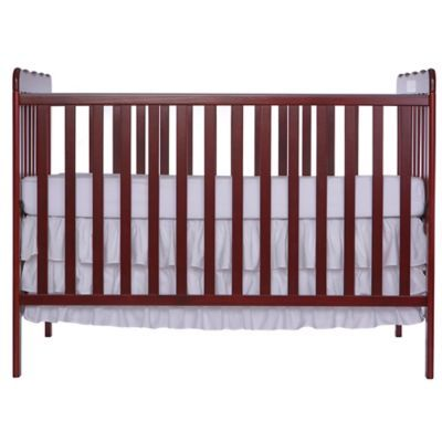 Dream On Me Carson Classic 3 In 1 Convertible Crib In Cherry Baby Cribs For Sale Convertible Crib