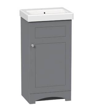 Orren Ellis Fraizer Teak 17 Single Bathroom Vanity Set Reviews Wayfair Single Bathroom Vanity Vanity Tops With Sink Bathroom Vanity