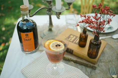 SNAP Wassail, a traditional Thanksgiving cocktail