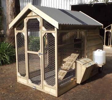 Premium Australian Built Medium Chicken Coop For 6 Chooks Pet Products Gumtree Australia Cardinia Area Chicken Coop Coops Coop
