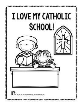 Catholic Schools Week Drawing And Writing Activities Catholic Schools Week Catholic School School Week