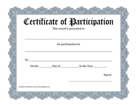 Best 25+ Certificate of participation template ideas on Pinterest - certificate of appreciation template for word