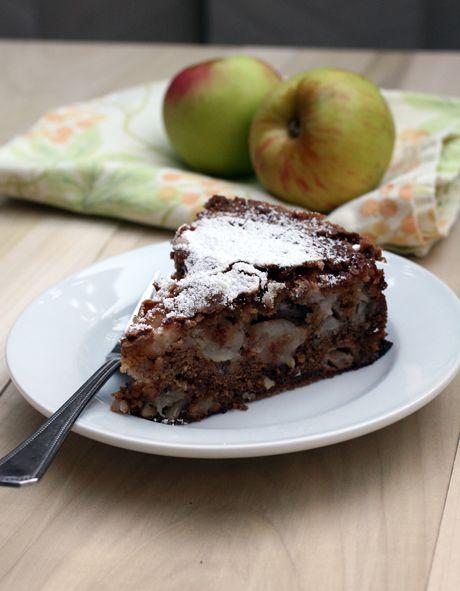 Apple snacking cake recipe flour