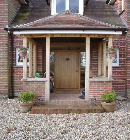 Building open porch but should I go with brick pillars? - DIYnot.com - DIY and Home Improvement