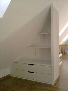 Ikea regalsystem dachschräge  Dachboden Regal (443×590) | einrichten | Pinterest | Dachboden ...