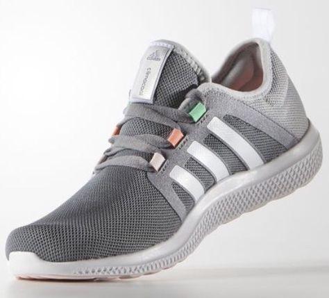 Adidas   Mode Adidas Cc Fresh Bounce Blau Sneaker Damen
