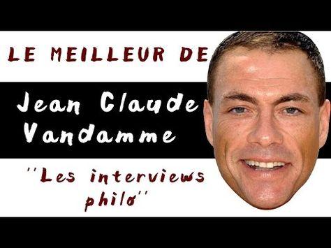 Le Meilleur de Jean Claude Van Damme - JCVD - Interview drole - Aware - YouTube