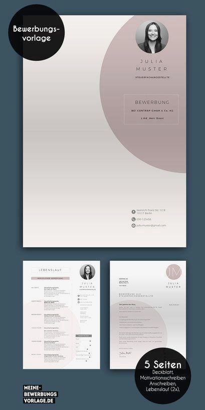 Resume Template With Headshot Photo Cover Letter 1 Page Word Resume Design Diy Cv Template In 2020 Resume Design Job Application Template Basic Resume