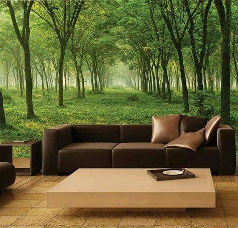 Decoración para tu dormitorio o sala con hermosos paisajes  De - moderne wandbilder für wohnzimmer