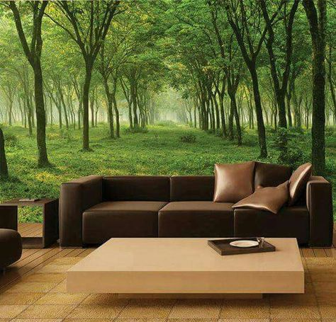 Decoración para tu dormitorio o sala con hermosos paisajes  De - led für wohnzimmer