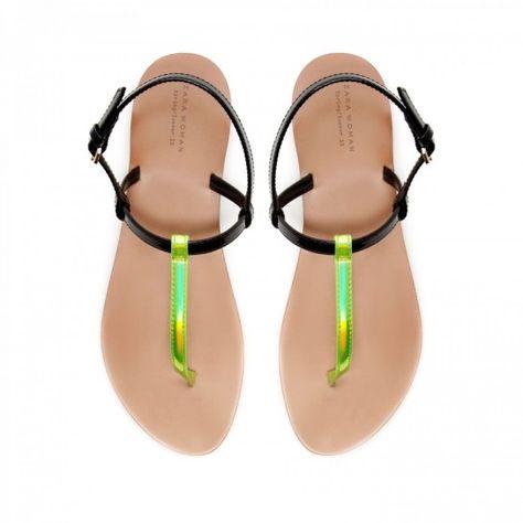 migliori scarpe da ginnastica eccezionale gamma di stili sulle immagini di piedi di Infradito fluo Zara | Sandalias! | Zara sandals, Women's ...