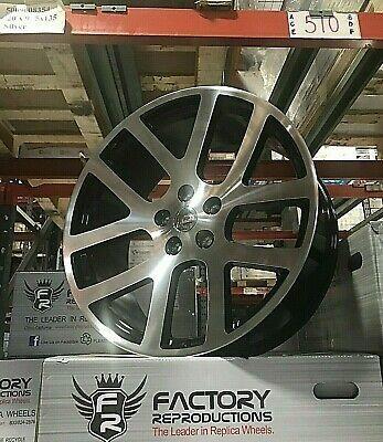 Advertisement Ebay 24 Srt10 Ram Wheels Black Machine All Terrain
