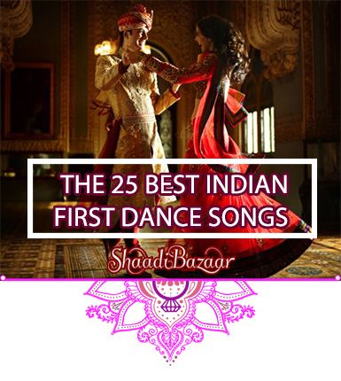 25 of our favorite #Hindi first dance #songs for your Indian wedding #indianwedding #shaadibazaar #wedding