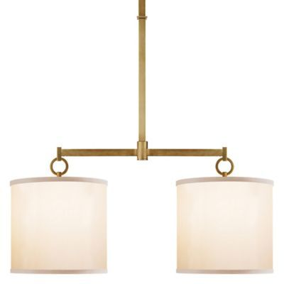 Purchase The French Cuff Double Pendant Soft Brass Open Box Return By Visual Comfort Today At Lumens Com Free Shipping On Orders 7 Ceiling Lights