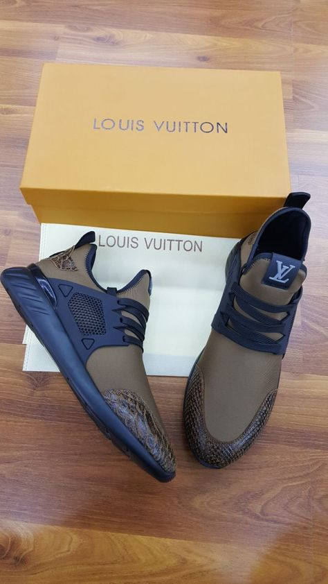 shoes and watch design Louis Vuitton Mens Sneakers, Louis Vuitton Shoes, Lv Shoes, Hype Shoes, Wing Shoes, Shoes Men, Casual Sneakers, Sneakers Fashion, Casual Shoes