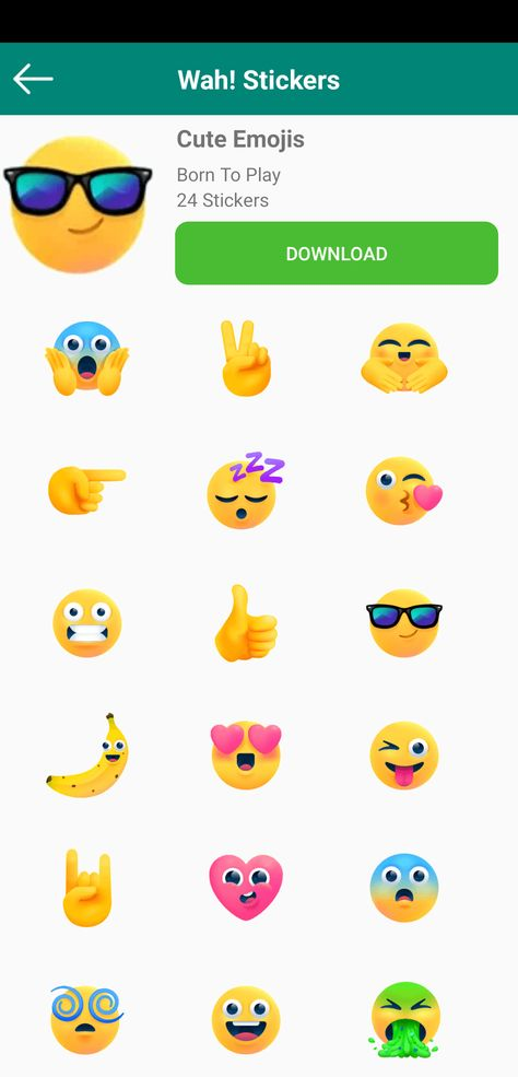 Hey Check This Cool Whatsapp Sticker App Its Contains
