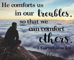 God Offers Comfort To All 3all Praise To God The Father Of Our