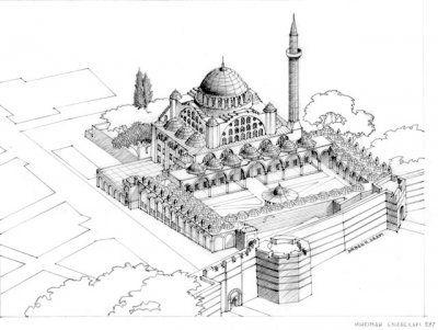Istanbul Edirnekapi Mihrimah Sultan Camii Camii Istanbul Camiler