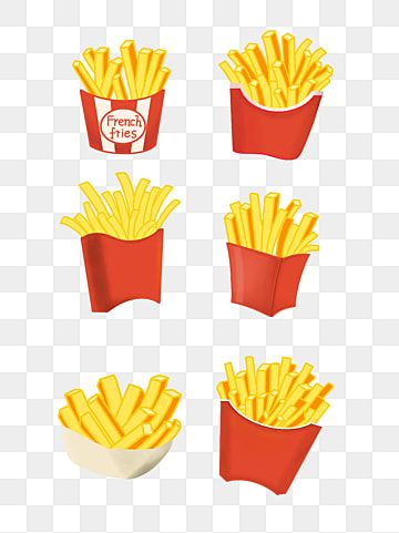 French Fries Graphic Art Print By Sylviebinder In 2021 Food Clipart French Fries Clip Art