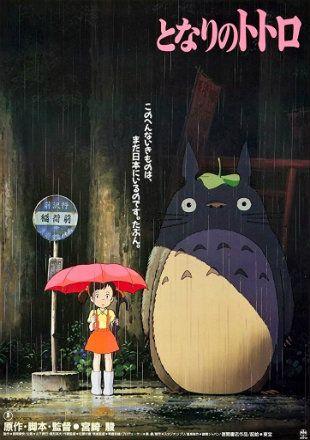 My Neighbor Totoro 1988 Brrip 720p Dual Audio In Hindi English Imdb Rating 8 2 10 Genre Animation Family Fanta In 2020 Totoro Movie Totoro Poster My Neighbor Totoro