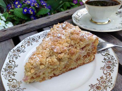 Photo of Rhabarberkuchen mit Amarettini – Aus meinem Kuchen und Tortenblog