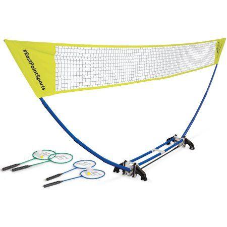 Eastpoint Sports Easy Setup Regulation Size Badminton Set Walmart Com Badminton Set Badminton Nets Eastpoint