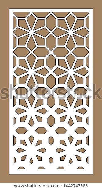 Find Cnc Geometric Template Ratio 12 Laser Stock Images In Hd And Millions Of Other Royalty Free Stock Ph En 2020 Lampara De Jardin Diseno Marroqui Plano De Arquitecto